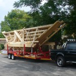 Roof Truss Erecting 07