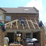 Roof Truss Erecting 21