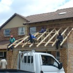 Roof Truss Erecting 22